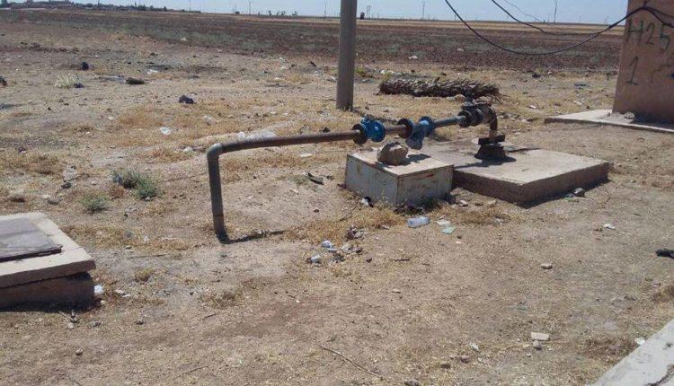 عودة محطة مياه عويجة في قامشلو إلى الخدمة