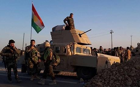 القوات العراقية وفصائل الحشد الشعبي تشن هجوماً على كركوك