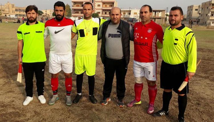 فريق صلاح الدين يتأهل للنهائي ضمن مباريات كأس سري كانيه للفرق الشعبية المرخصة