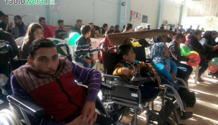 هيئة الشؤون الاجتماعية والعمل في مدينة عفرين و بالتنسيق مع هيئة الشباب والرياضة تنظم احتفالية بمناسبة اليوم العالمي لذوي الاحتياجات الخاصة