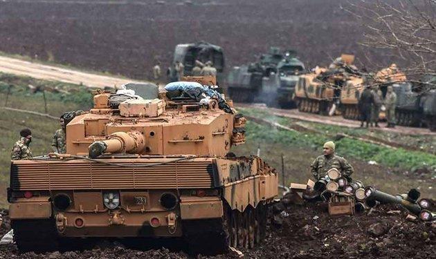 قوات سوريا الديمقراطية: أسلحة حلف شمال الأطلسي (الناتو) والمدرعات والدبابات الألمانية لإبادة سكان عفرين