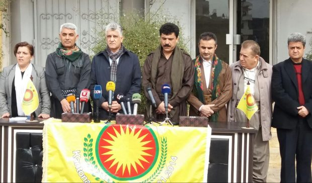 بالرغم من تهديدات القنصل التركي في هولير، وفد برلمان كردستان في عفرين